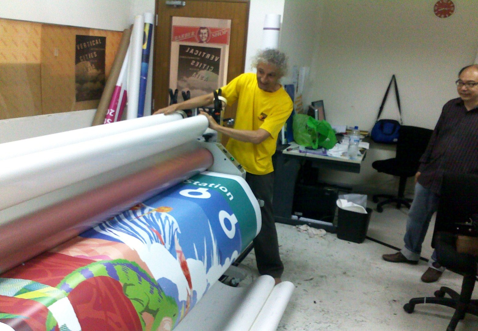 Plixo Large Format Printing Services In Singapore Stickers - Vinyl decal printing machine